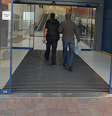 Entrance Systems flooring work by West Lancashire Flooring