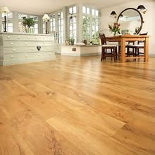 Hard Wood Flooring work by West Lancashire Flooring