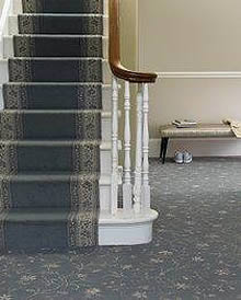 Residential Hall Carpet Flooring work by West Lancashire Flooring