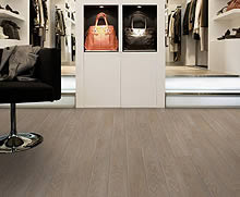 Retail Wood Floor work by West Lancashire Flooring