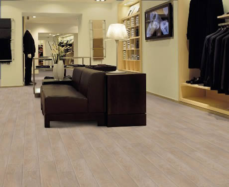 Retail Woodern Flooring work by West Lancashire Flooring