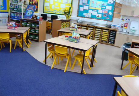 School Flooring West Lancashire Flooring Limited