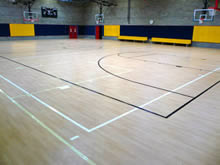 Sports Surface Flooring work by West Lancashire Flooring